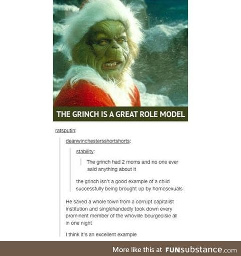 The Grinch that stole the means of reproduction