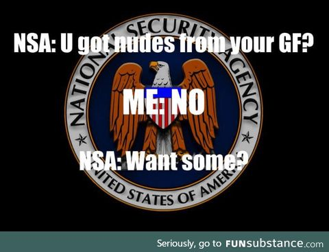 NSA got your back