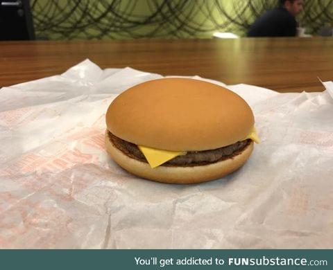This perfect hamburger bun