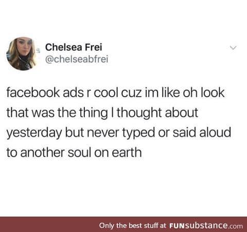 Those Facebook ads