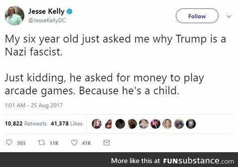 Let kiddos be kiddos