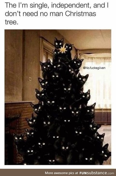 It's a dark christmas