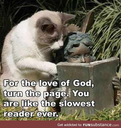 Slowest reader ever!!!