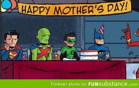 Mother's day with the justice league