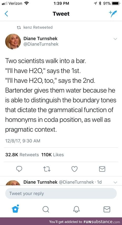Very smart joke