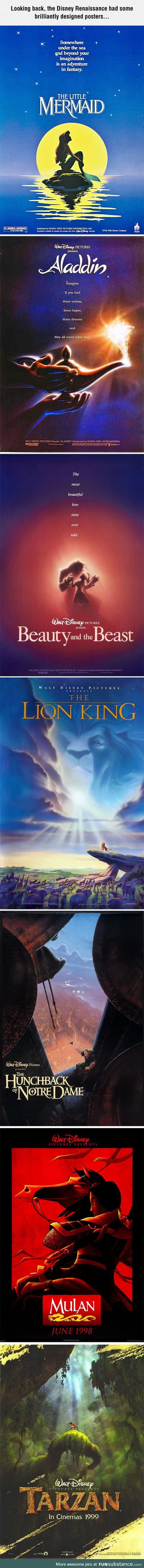 Disney's Old Posters Were The Best