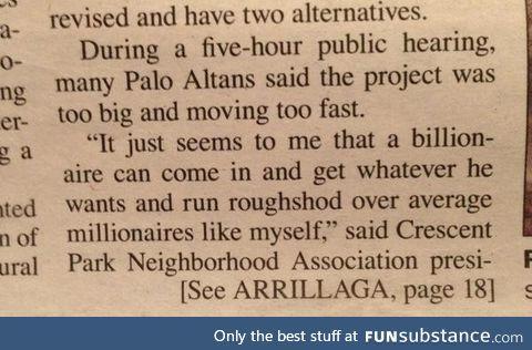 Those darn billionaires