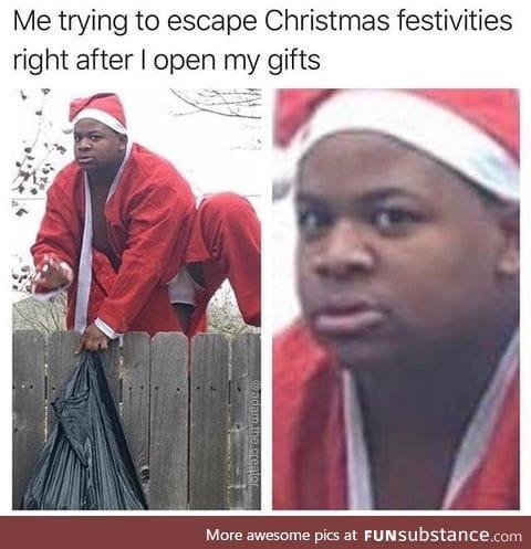 It's black santa