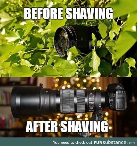 Shaving increases self confidence