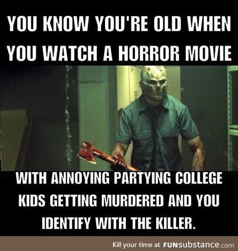 Do You know you're old when !