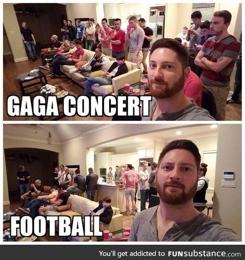 Lady Gaga VS the Super Bowl