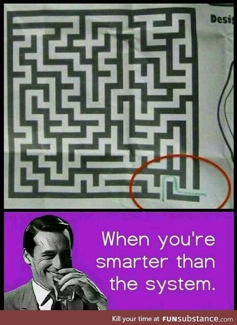 Take the shortcut
