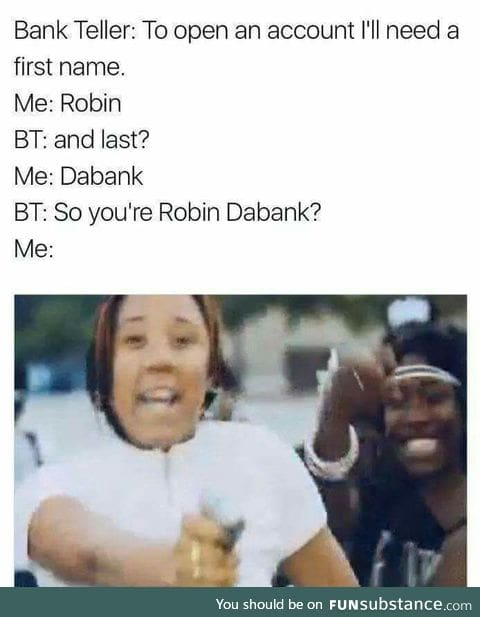 How to do a robbery 101