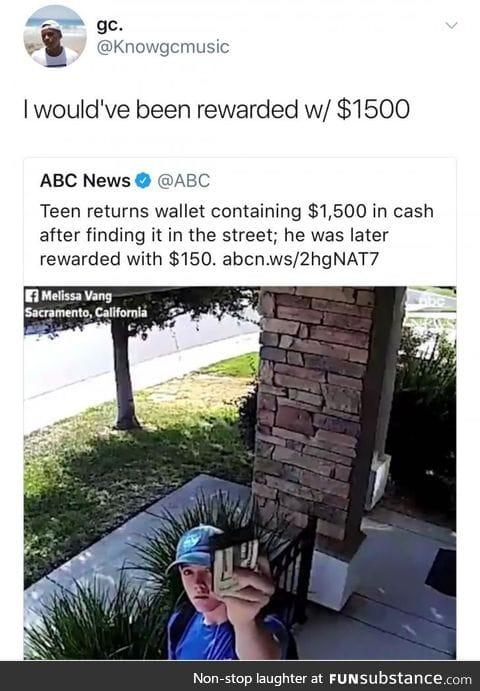 Self reward is the best reward