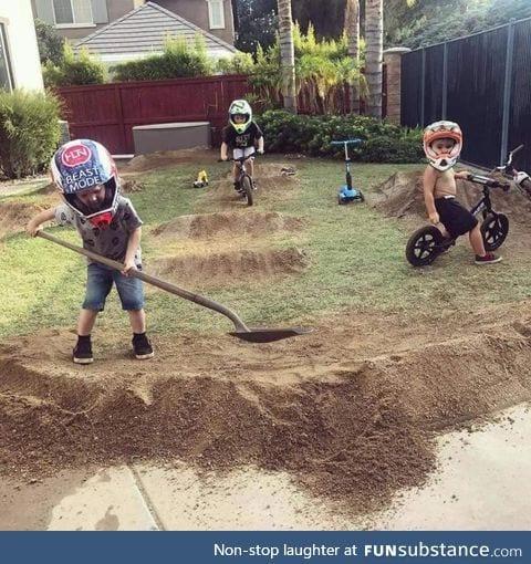 If you give a kid a shovel