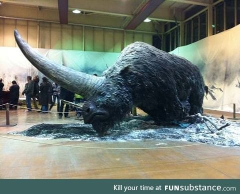 Meet the Elasmotherium, a big hairy unicorn that existed as early as 29,000 years ago