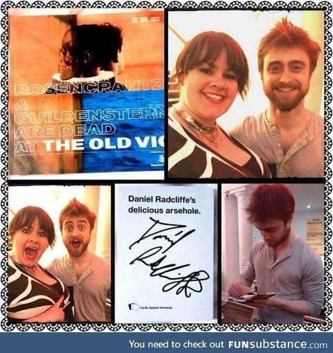 Always be prepared to meet Daniel Radcliffe