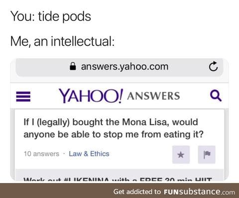 That's a good question