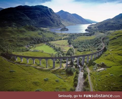 Scottish viaduct
