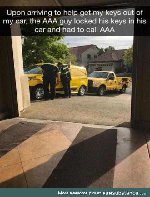 Aaa locked out