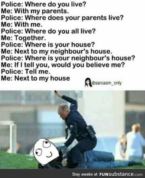 How 2 friend police