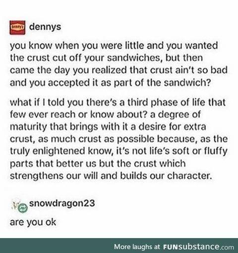 Oh Denny's...(more sandwich stuff)