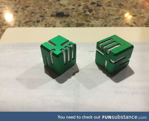 Really cool dice