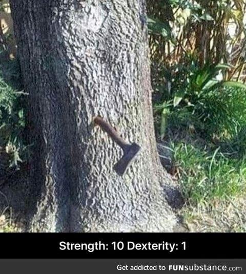 Tree just got wood