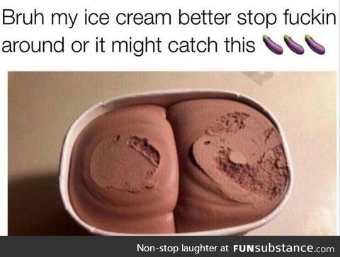 I love chocolate ass