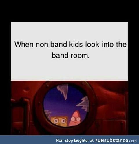 band nerds...