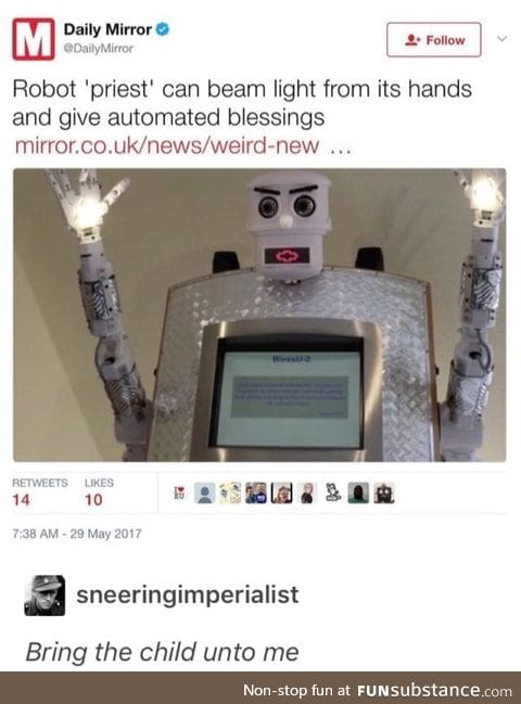 Automating religion