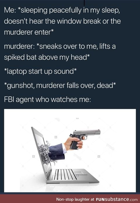 Thanks, Mr.FBI man.