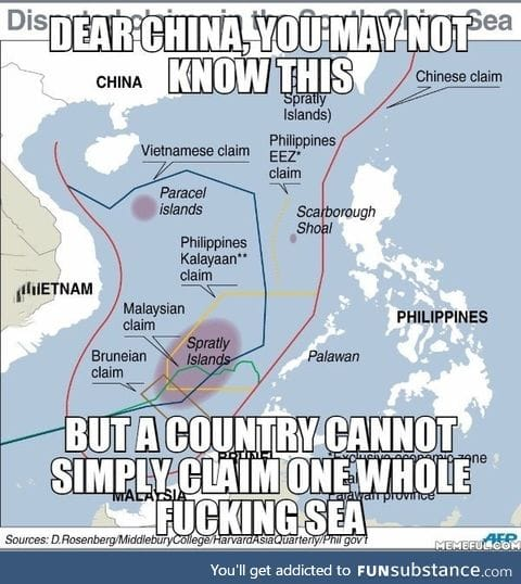 About the South China Sea dispute