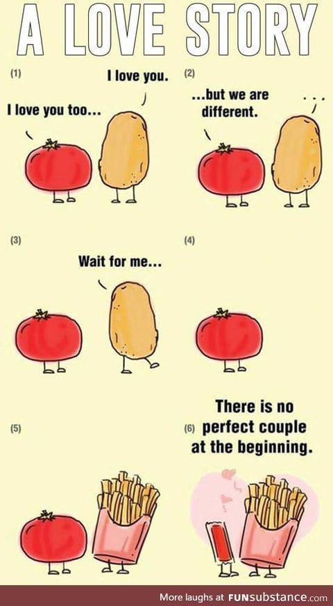 Tomato and potato: A love story