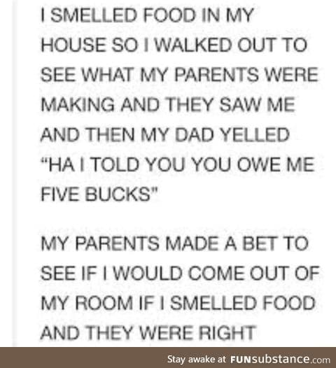 Parents understand us so well