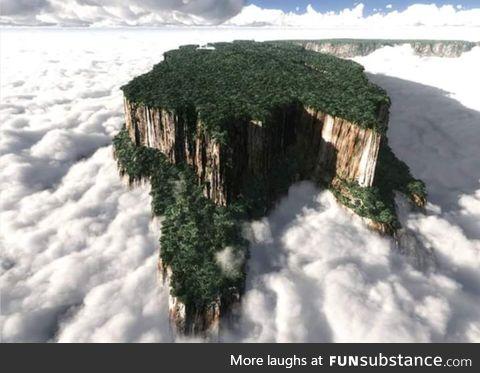 The Tabletop Mountains of Venezuela