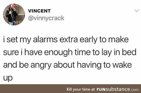 It takes a while to wake up