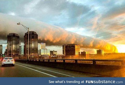 Roll clouds