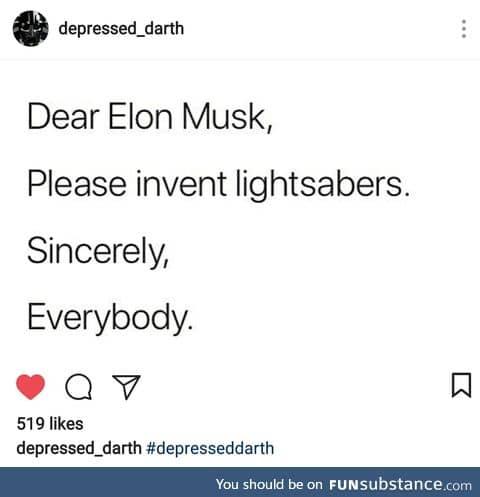 Elon you listining?