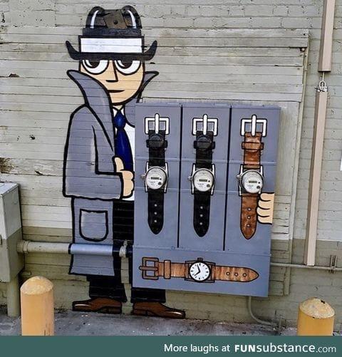 Street art in Long Beach, California