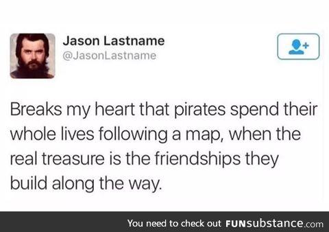 The true treasure