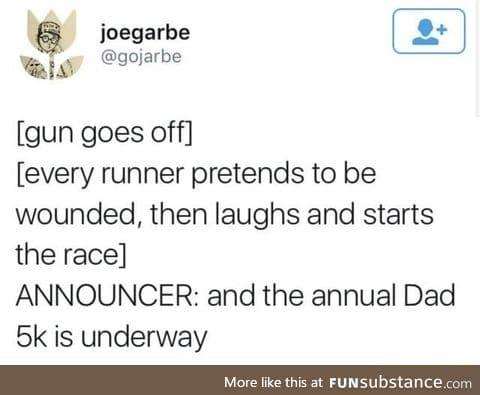 Dad race