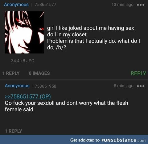 Anon has a secret