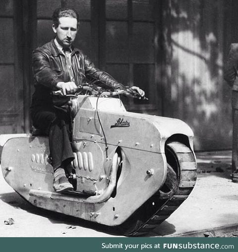 Now THAT is a manly motorcycle!