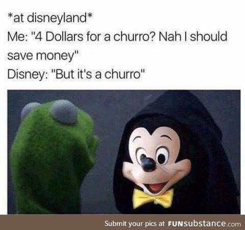 I don't even like churros