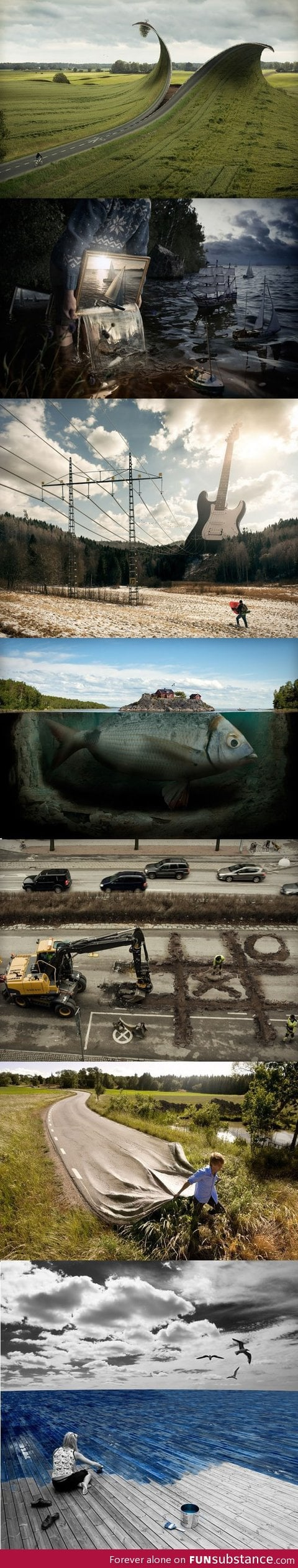 Works by Photoshop Genius Erik Johansson