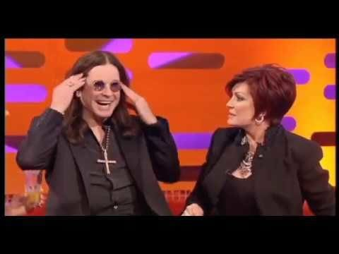 Ozzy Osbourne mocks Olivia Newton John's scam drink, in front of Olivia Newton John