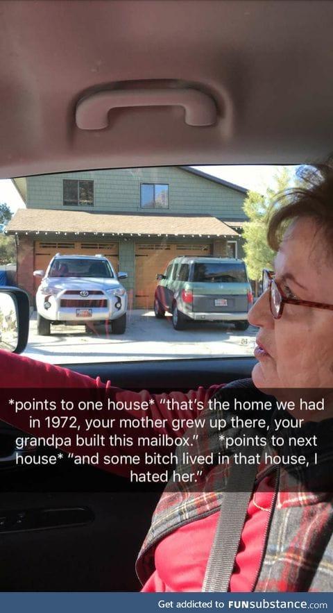 Grandma's never forget