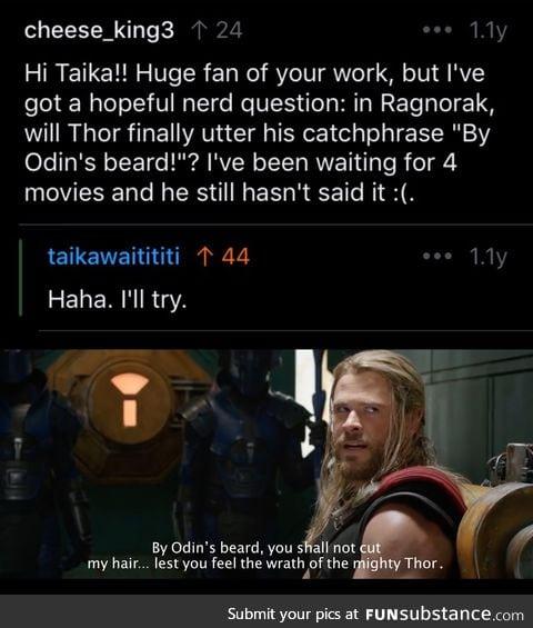 By Odin's beard, he really did it