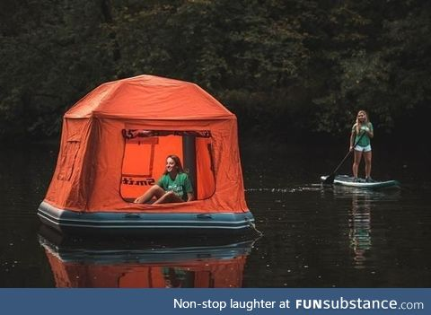 Who wouldn't pay $1500 for this kind of floating nightmare?